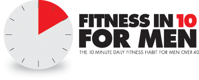 Fitness in 10 for Men Logo